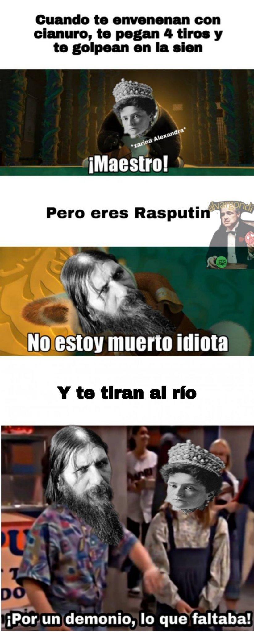 Ra Ra Rasputin, lover of the Russia queen♪ - meme