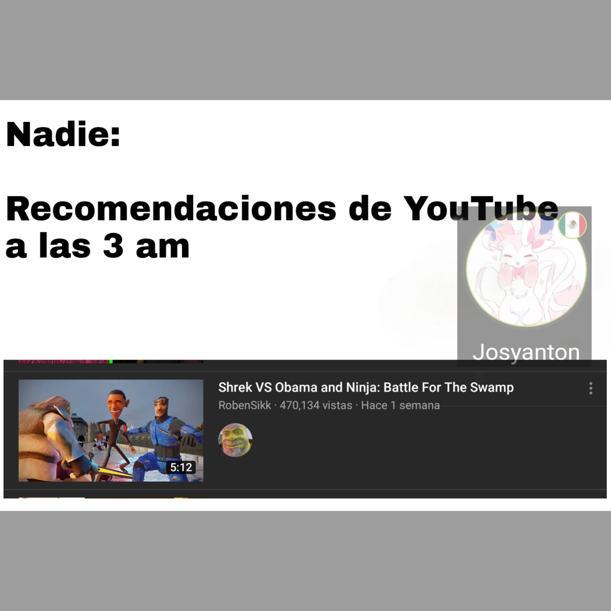 YouTube que brg - meme