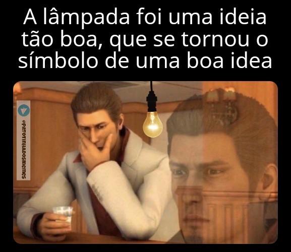 Meme lampada - patotinhadosmemes
