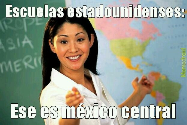 Escuelas estadounidenses... - meme