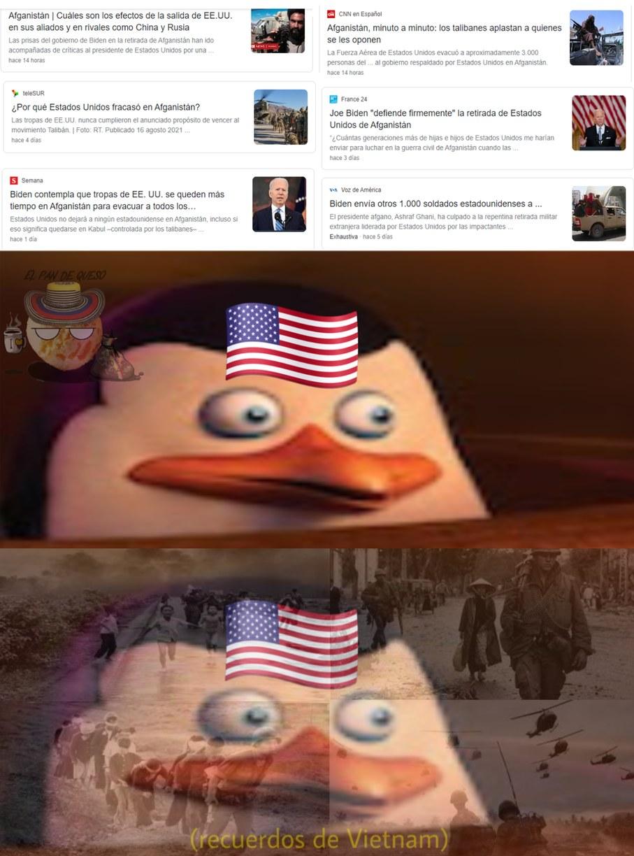 Oh no, Trump tenia razon - meme