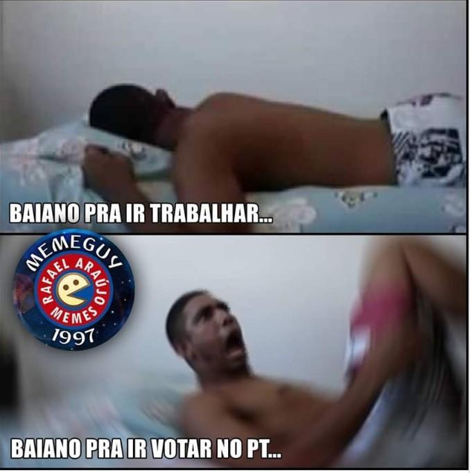 baiano é fod# - meme