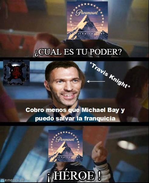 ¿Michael Bay? ¿quién es ese? - meme