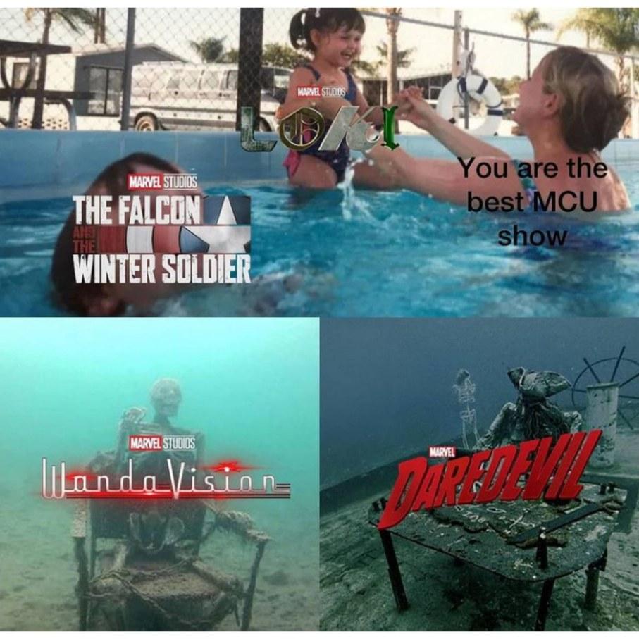 Best marvel series - meme