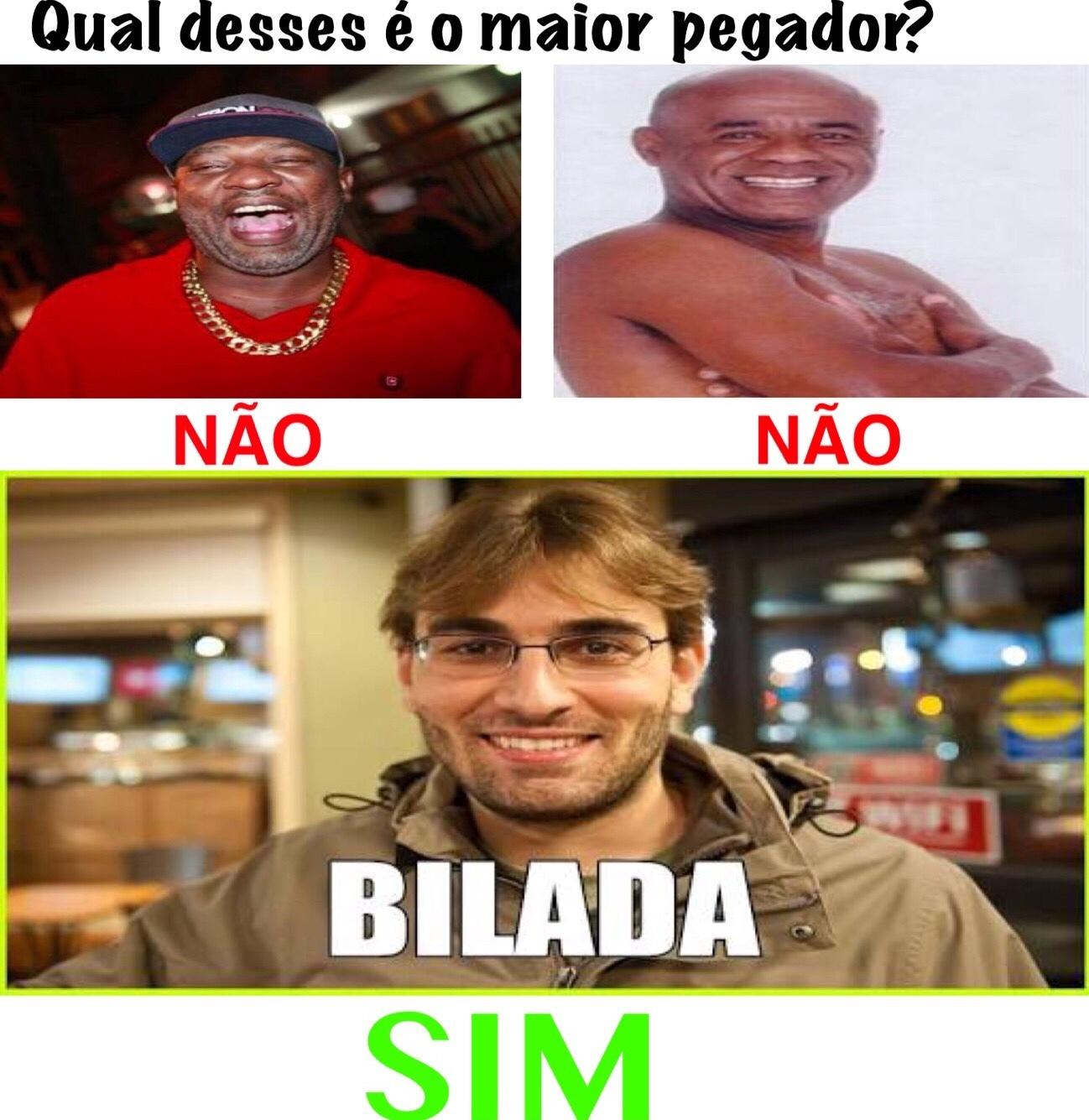 O REI DA BILADA - meme