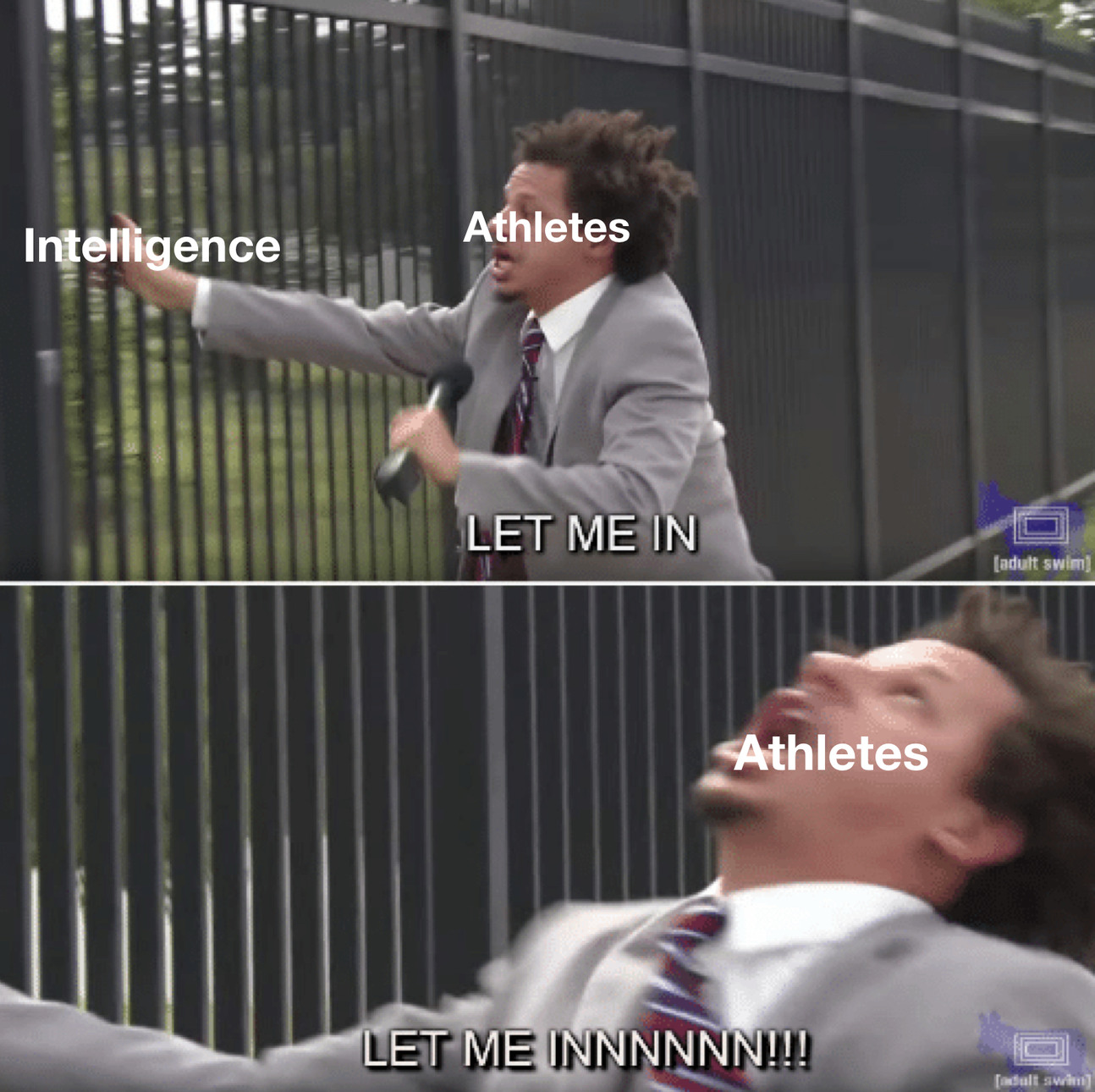 Athletes - meme