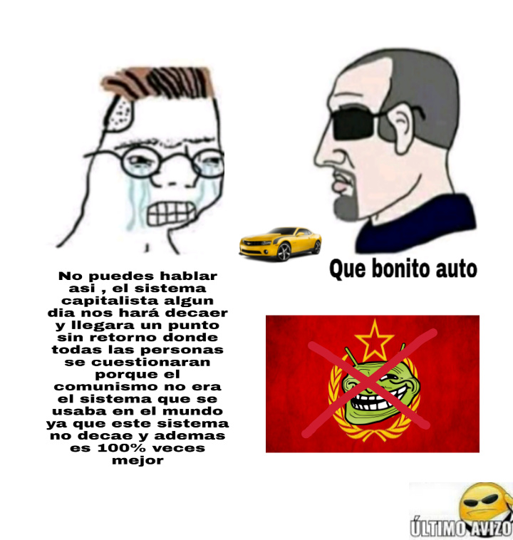 Acab - All Comunists are bastards - meme
