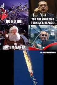 Erdogan kills Santa. - meme