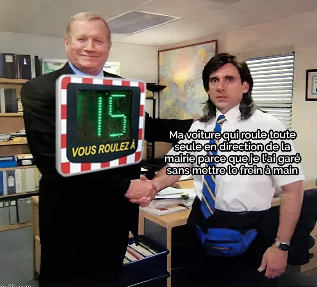 Encore un meme sur les radars pédagogiques xD