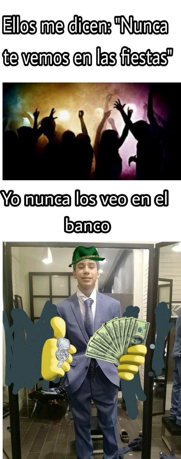 Tomas banquero - meme