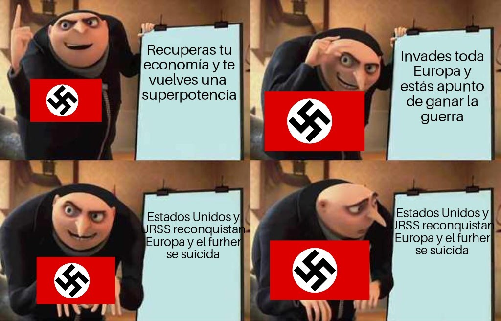 "Como prometí aquí está la parte 2 de ""pobre Alemania"" - meme"