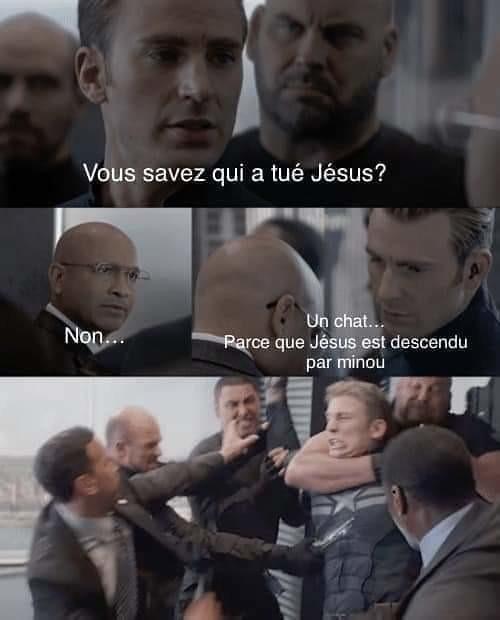 Jésus reviens ! - meme