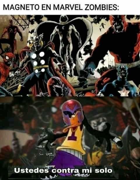 Magneto no les gana - meme