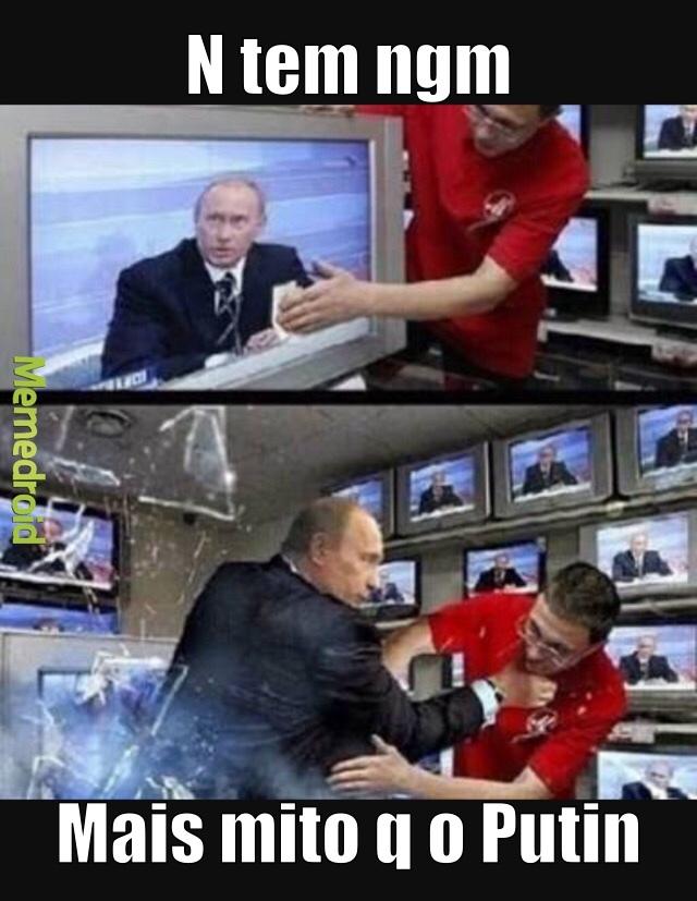 Putin mitando - meme