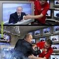 Putin mitando