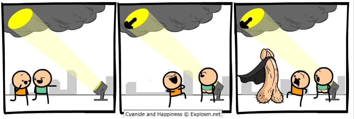 Gland-Man! - meme
