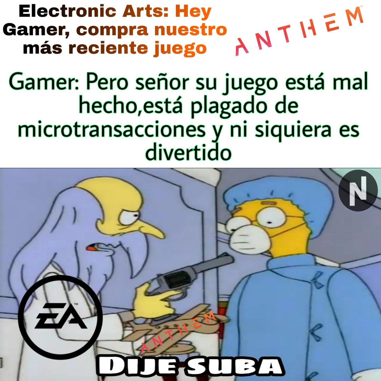 Pobre Bioware - meme