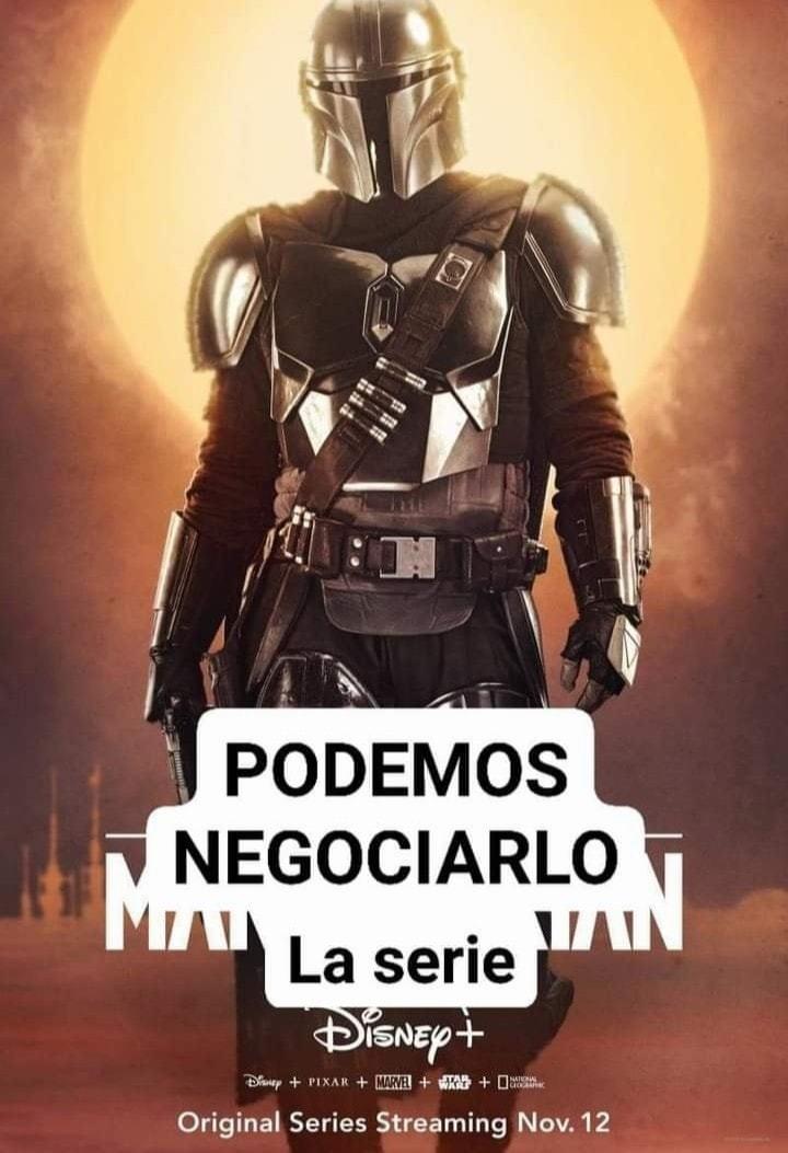 El Negociador - meme