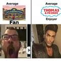 Thomas y sus amigos era mejor que Chugginton, después se fue a la mierda y se parece más a Chugginton que a Thomas