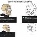 Armys.....