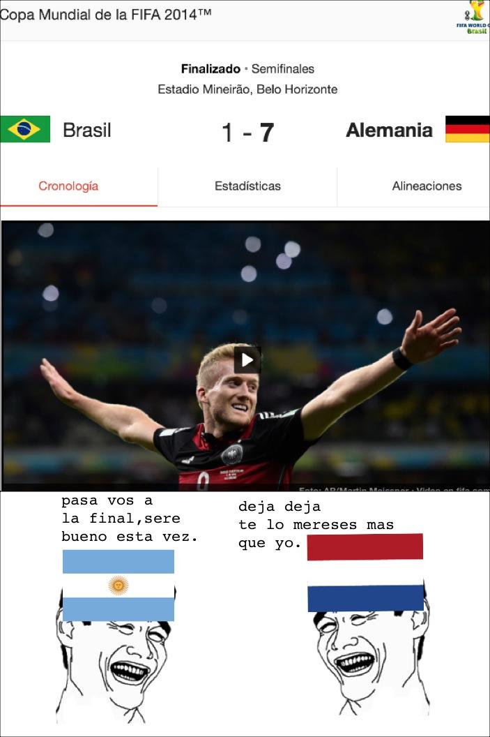 Vamos Argentina locoo!! - meme
