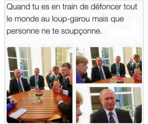 Sacré Poutine  - meme