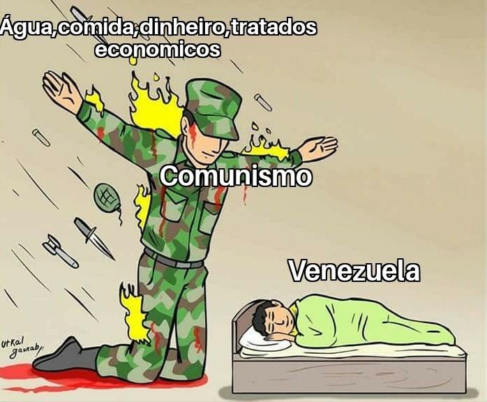 Comunismo imundo - meme