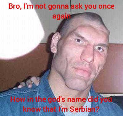 serbs are based - meme