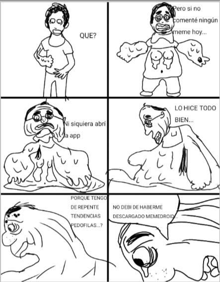 Dibujo de la cagada - meme