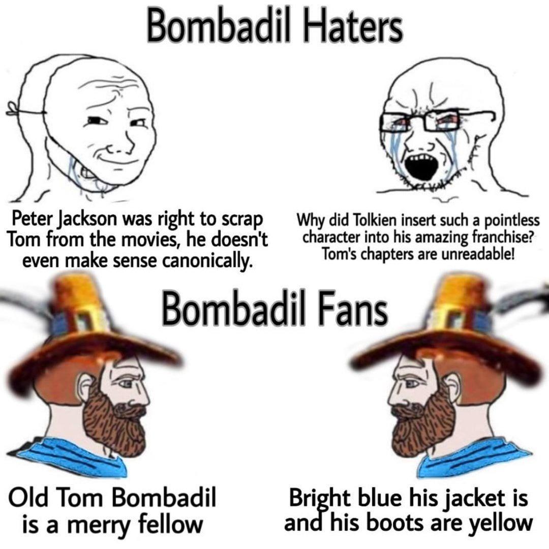 Bombadil is a Chad - meme