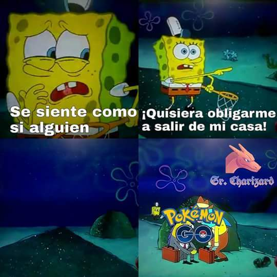 Pokemon go :v - meme
