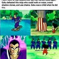 Goku is stronger.
