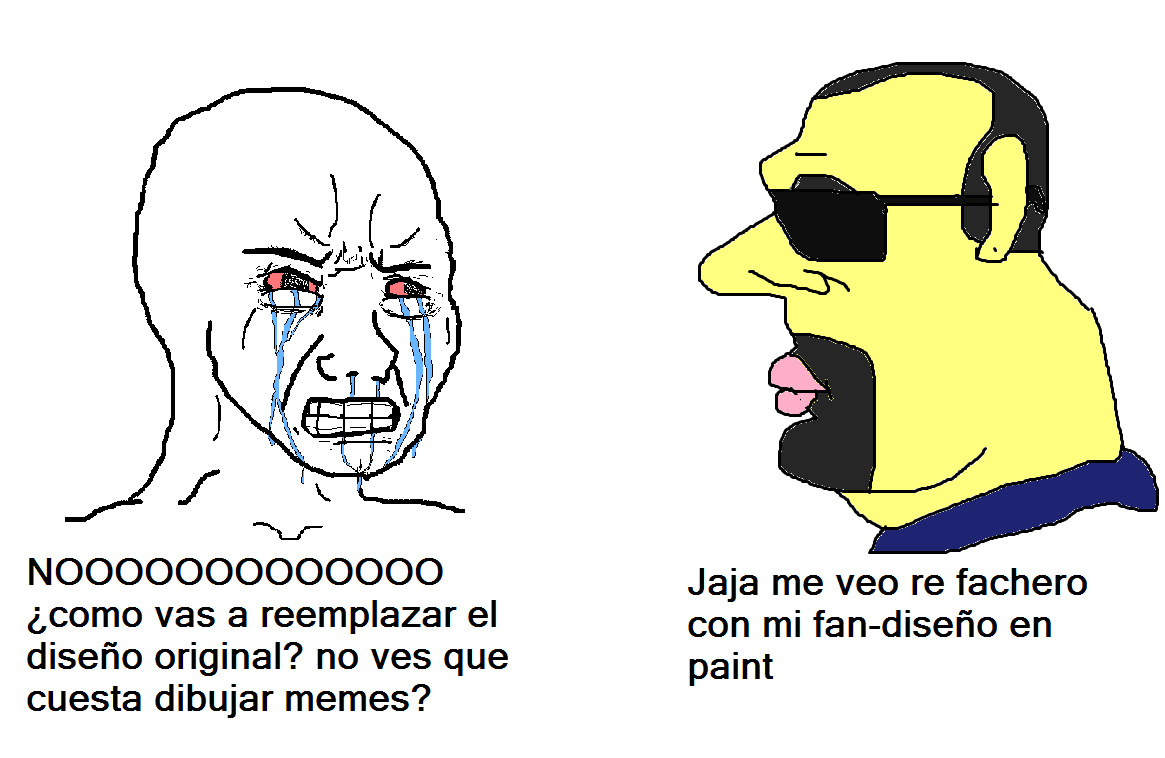 Re fachero mi kpo fan art - meme