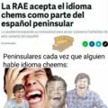 Los peninsulares hablan idioma down :okay: