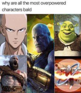 shrek is the strongest here - meme