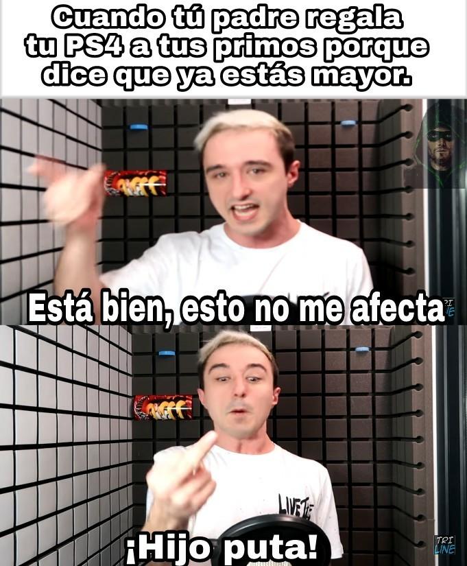 MECAGOENTUPUTAMADREBASTARDODEMIERDA - meme