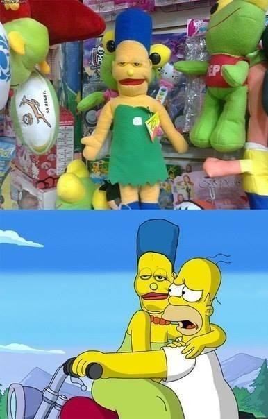 Como olvidar cuando Marge se fusiono con Super Janemba - meme
