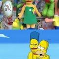 Como olvidar cuando Marge se fusiono con Super Janemba