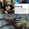 Russian superiority