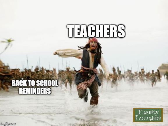School on August Be like - meme