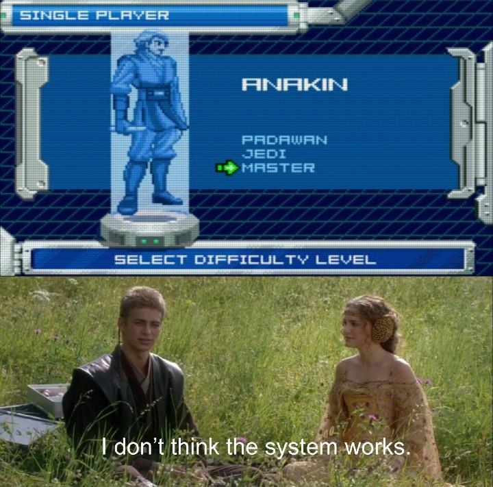 Episode III on the GBA was my childhood - meme