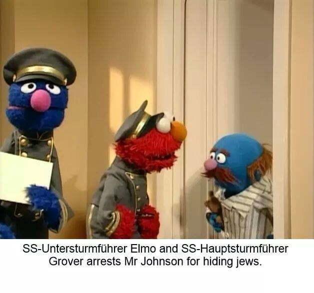 you are under arrest johnson fr hiding jews - meme