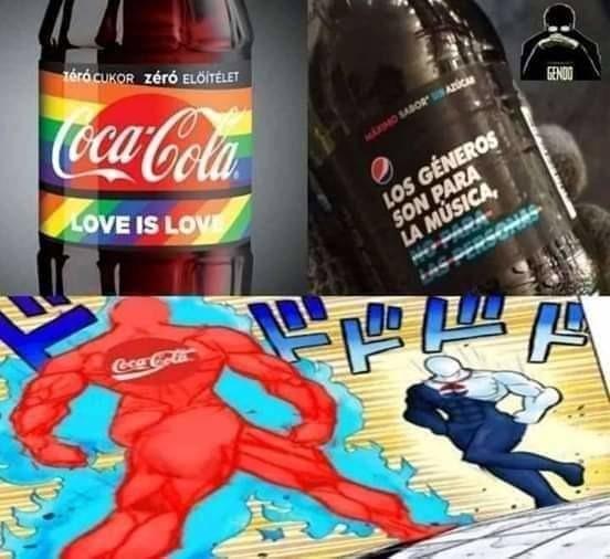 Yo apoyo a Pepsi - meme