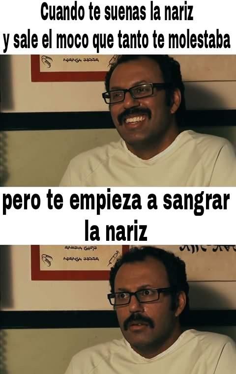 Nariz - meme