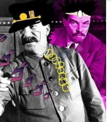 Staline bizarre Adventure. - meme