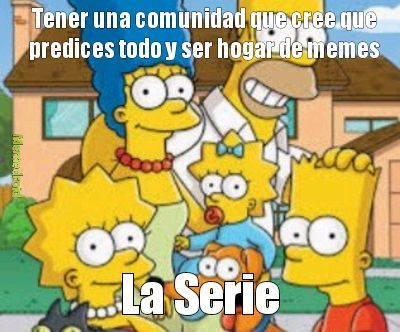 Los Simpson en pocas palabras - meme