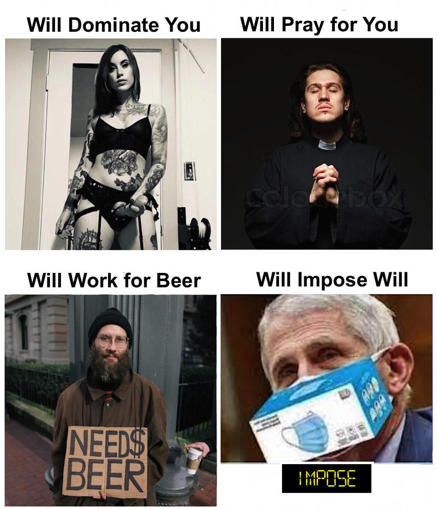 He won't? - meme
