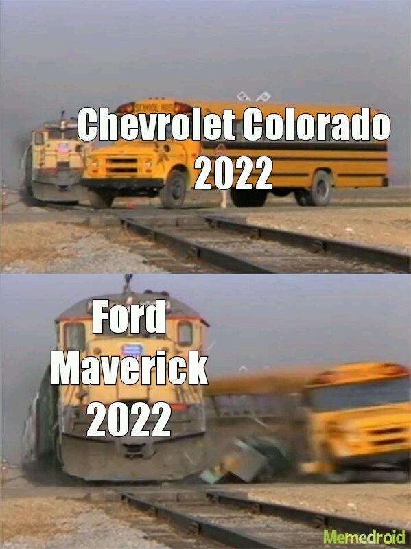 Anda con todo la Maverick - meme