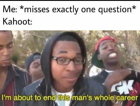 End it now - meme