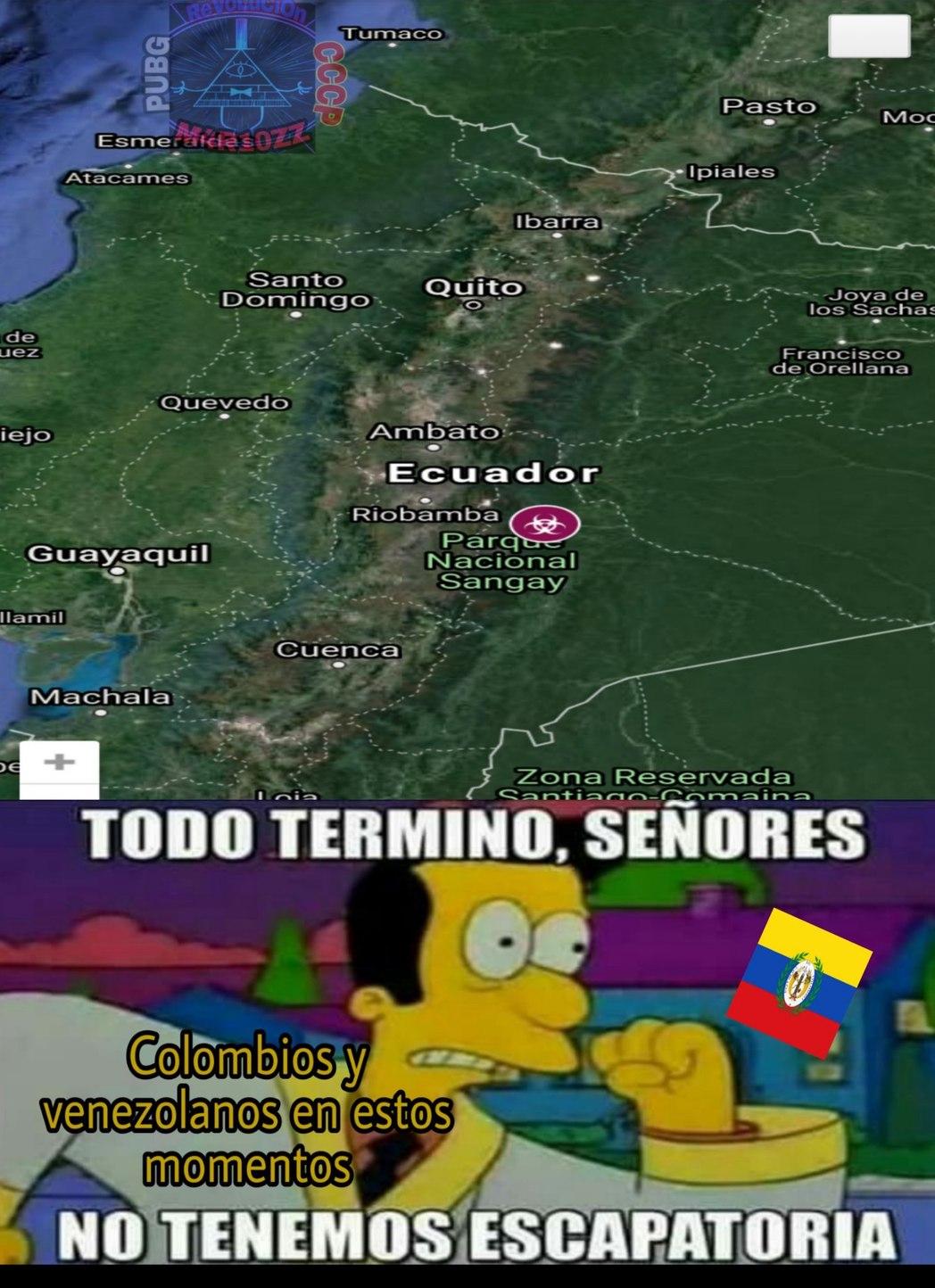 La gran Colombia - meme